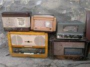 Покупаем советские приемники , телевизоры,  патефоны