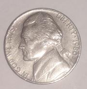 Сша 5 центов 1980 г