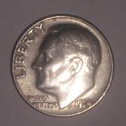 США 10 центов 1974 г.