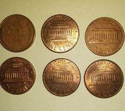 Монеты США  Либерти 1 цент